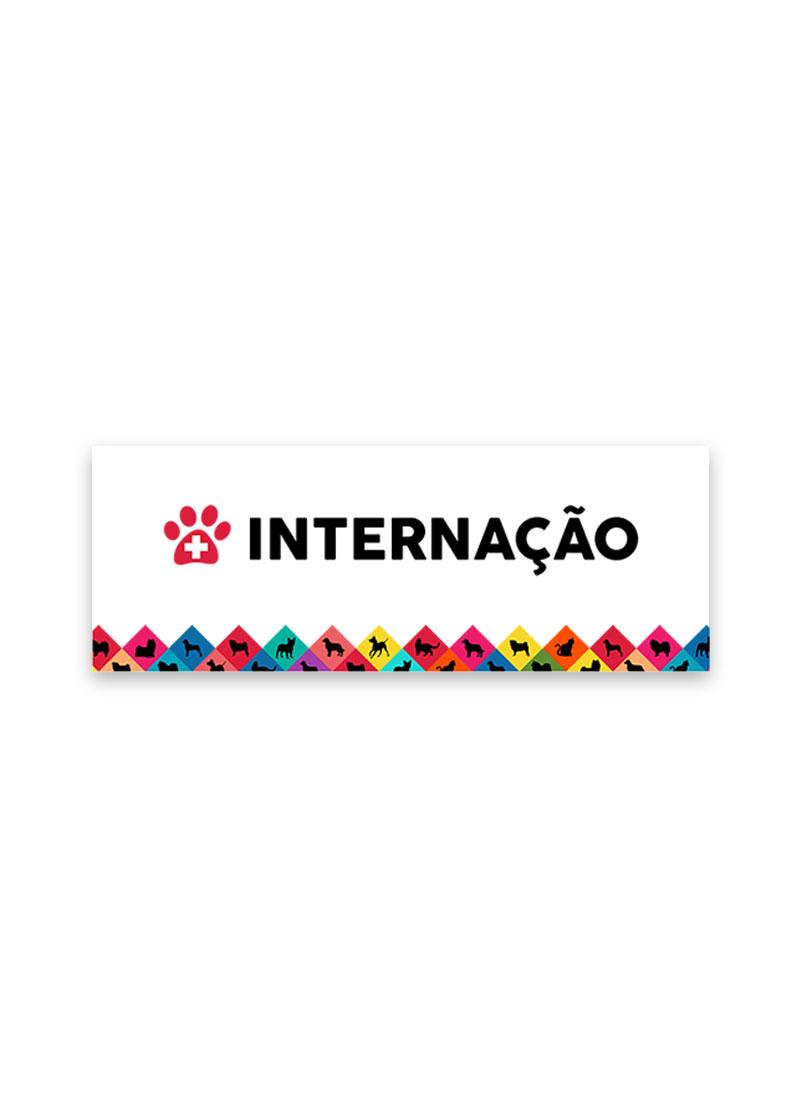 PLACA INTERNAÇAO RAÇAS