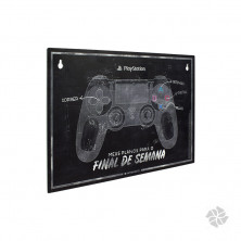 PLACA PLAY STATION PIXEL Hover
