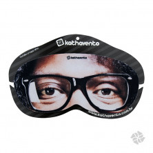 TAPA OLHO NEOPRENE FOTO BLACK POWER U Hover